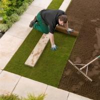 Подготовка к укладке рулонного газона