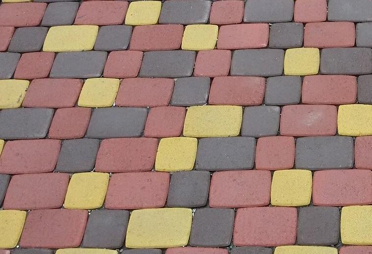 Тротуарная плитка толщиной 50 мм