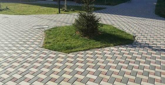 тротуарная плитка 60 мм