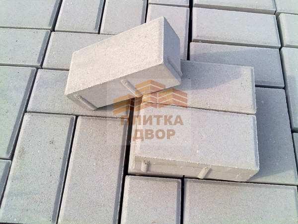 Брусчатка 200х100х70 из вибропрессованного бетона