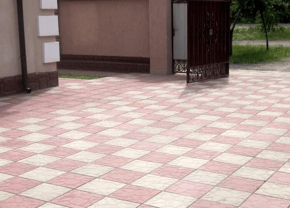 тротуарная плитка в Солнечногорске ФОТО